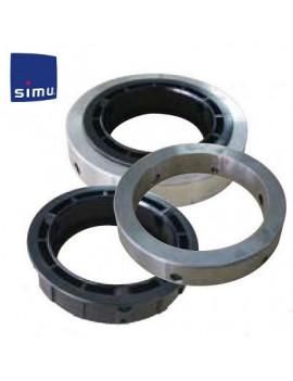 Simu - Bagues moteur Simu T8 T9 Ø127 mm - 9013822 - Grille metallique