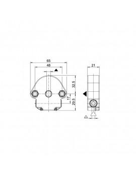 Bubendorff - Treuil Bubendorff 1/6 SFC - 237003 - Volet roulant