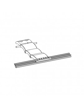 Zurfluh Feller H845 - Verrou Blocksur 3 maillons lame 8 mm volet roulant