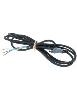 Somfy - Cable moteur H05RRF 2.5 m noir - 9001653