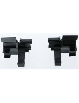 Building Plastics - Tulipe noire flasque 45° 125/205 lame 9 - ILT01-010