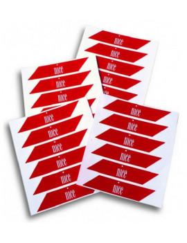 Nice - Bandes de signalisation pour barrière levante - Nice WA10