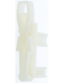 AR014 - Butée blanche encastrée amovible lame finale volet roulant