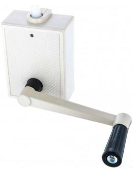 Building Plastics - Enrouleur à câble volet roulant 3m OPO306R1 - Blanc