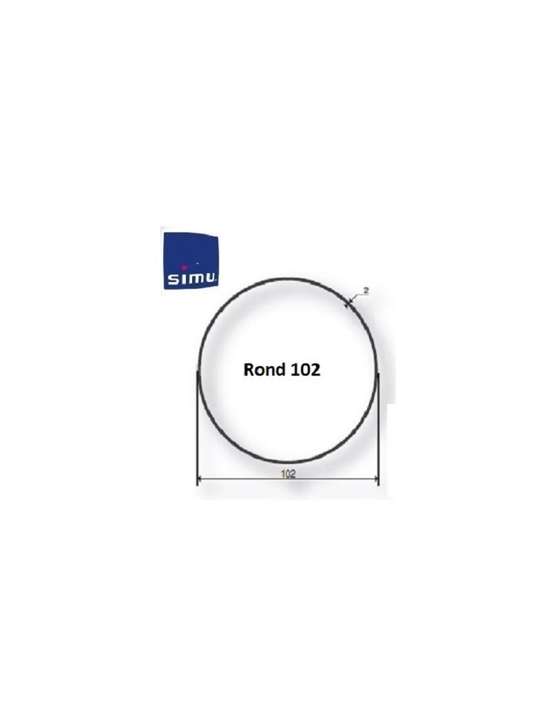 Bagues moteur Simu T5 - Dmi5 Rond 102 - 9521056 - Volet roulant
