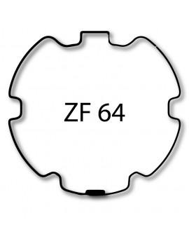 Simu-Somfy - Bagues moteur T5 - LT50 - Dmi5 ZF 64 - 9521032 - Volet roulant