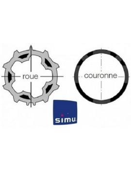 Bagues moteur Simu T5 - Dmi5 ZF 54 - 9011000 - Volet roulant