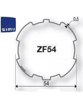 Simu - Bagues moteur Simu T5 - Dmi5 ZF 54 - 9011000 - Volet roulant