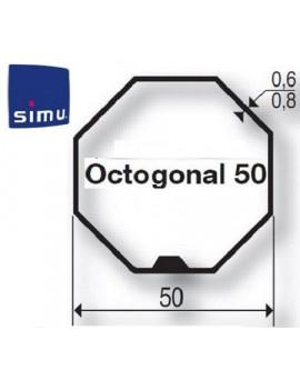 Simu - Bagues moteur Simu T5 - Dmi5 Octogonal 50 - 9521054