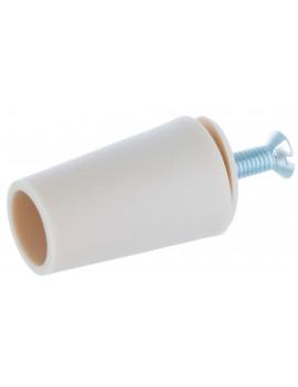 Butée conique volet roulant 40 mm ivoire - ARC040-026