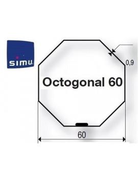 Bagues moteur Simu T5 - Dmi5 Octogonal 60 Simbac - 9521031