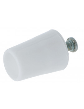 Butée conique volet roulant 30 mm blanche - ARC030-001