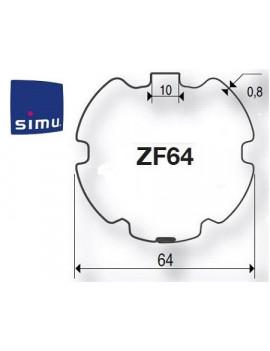 Simu - Bagues moteur Simu T5 - Dmi5 ZF 64 - 9521032 - Volet roulant