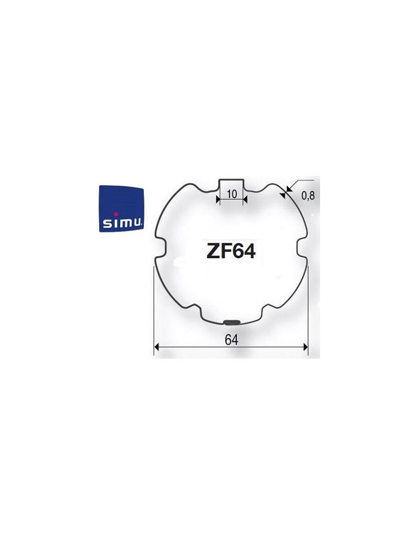 Bagues moteur Simu T5 - Dmi5 ZF 64 - 9521032 - Volet roulant