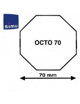 Simu - Bagues moteur Simu T5 - Dmi5 Octogonal 70 Simbac - 9521022