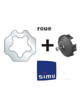 Bagues moteur Simu T5 - Dmi5 Octogonal 70 Simbac - 9521022