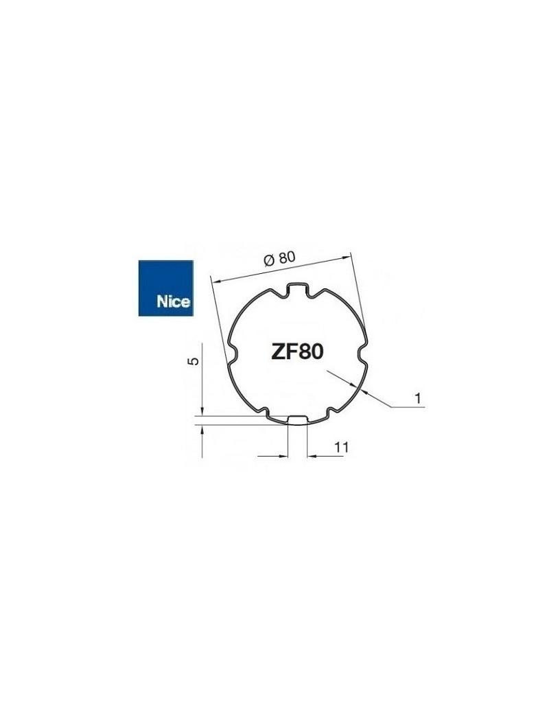 Bagues moteur Nice Era M - Era MH ZF 80 - 515.28000
