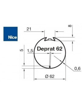 Bagues moteur Nice Era M - Era MH Deprat 62 - 515.26200