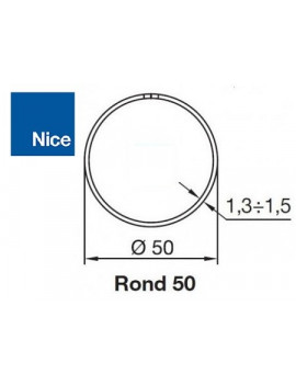 Bagues moteur Nice Era M - Era MH Rond 50 - 515.25000