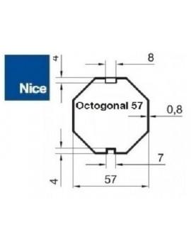 Nice - Bagues moteur Nice Era M - Era MH Octogonal 57 - 515.05700