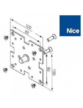 Nice - Support moteur Nice Era MH - 100 x 100 - 525.10044