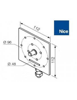 Support moteur Nice Era MH - Réglable diamètre 10mm - 525.10047