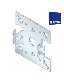 Support moteur Simu T5 - Double pince - 9520049
