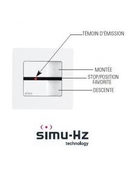 Emetteur mural Simu Hz 1 canal - Simu 2008369