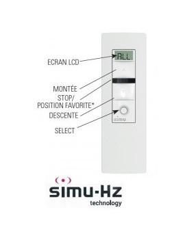 Telecommande Simu Hz 5 canaux - Simu 2008798