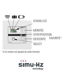 Emetteur mural Simu Hz Memory - Simu 2008732