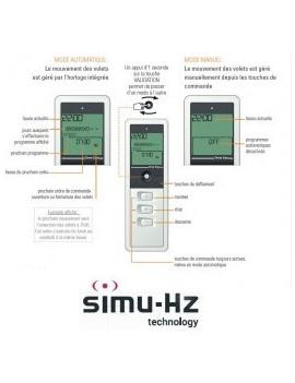 Telecommande Simu Hz Timer Easy - Simu 2008188