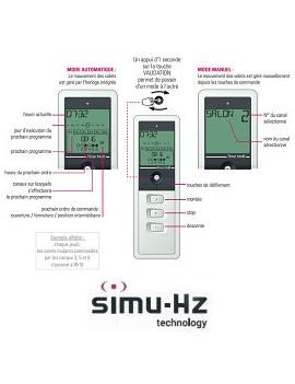 Telecommande Simu Hz Timer Multi - Simu 2007830