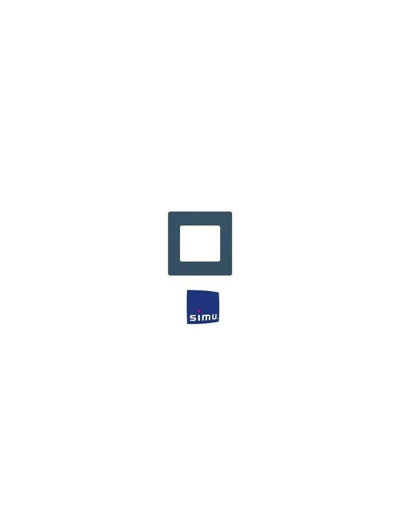Cadre pour emetteur mural Simu Hz Bleu minéral - Simu 9019769