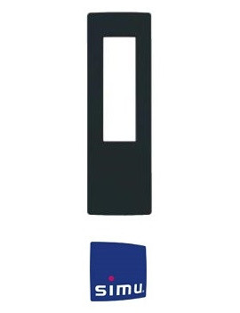 Simu - Cadre pour telecommande Simu Hz Anthracite - Simu 9019775