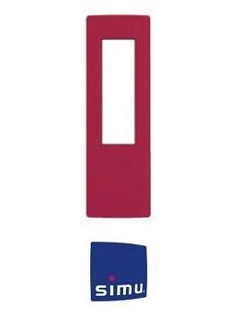 Cadre pour telecommande Simu Hz Rouge framboise - Simu 9019777