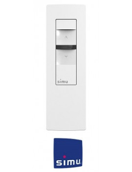 Cadre pour telecommande Simu Hz Alu brossé - Simu 9019779