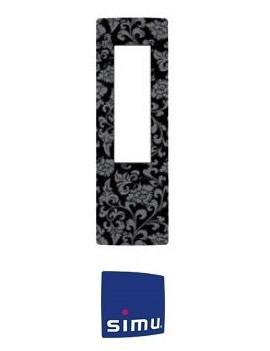 Simu - Cadre pour telecommande Simu Hz Fleur de Lys - Simu 9019781