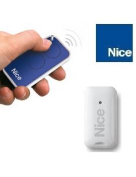 Telecommande Nice Era Inti bleu 2 canaux - Nice INTI2B