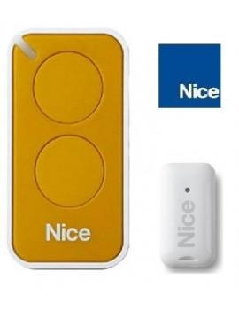 Telecommande Nice Era Inti jaune 2 canaux - Nice INTI2Y