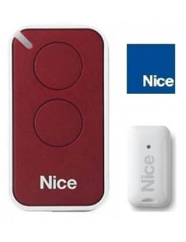 Nice - Telecommande Nice Era Inti rouge 2 canaux - Nice INTI2R