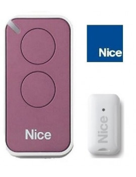 Nice - Telecommande Nice Era Inti lilas 2 canaux - Nice INTI2L