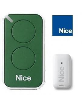 Nice - Telecommande Nice Era Inti vert 2 canaux - Nice INTI2G
