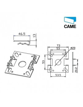 Came - Support moteur Came Mondrian 5 - Chantier - 001YM0109