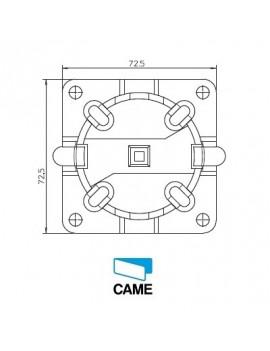 Support moteur Came Mondrian 5 - Rapide avec cheville - 001YM0114