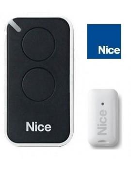Nice - Telecommande Nice Era Inti noir 2 canaux - Nice INTI2