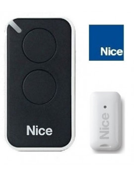 Telecommande Nice Era Inti noir 2 canaux - Nice INTI2