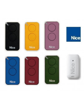 Lot de 6 telecommandes Nice Era Inti 2 canaux - Nice Era Inti
