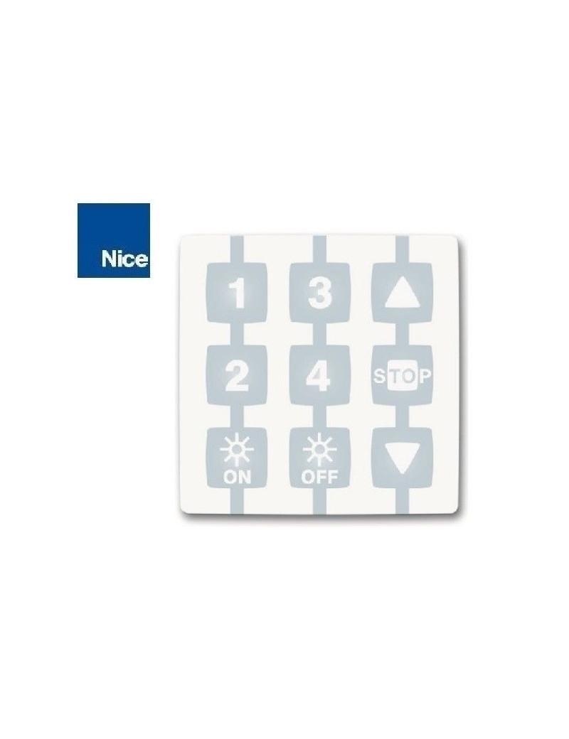 Emetteur NiceWay 4 canaux fonction soleil - Nice WM004G