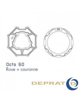 Bagues moteur Deprat Octogonal 60 - 050KOC60 - Volet roulant