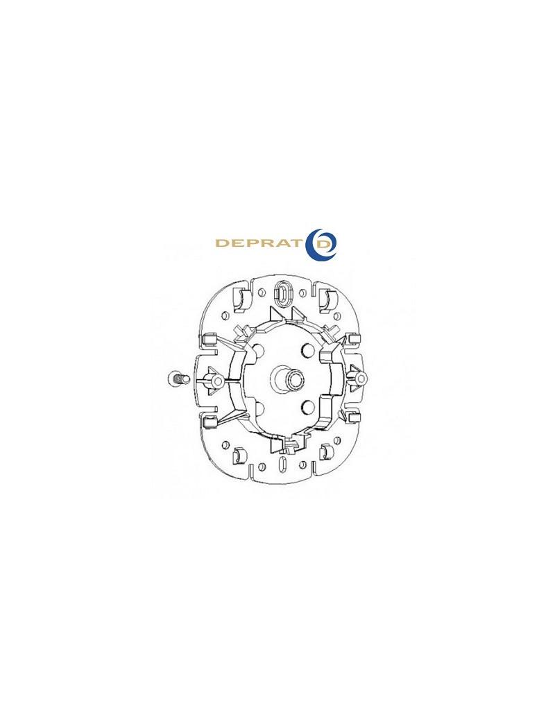 Support moteur Deprat Universel avec pion - 050SUP31K - Volet roulant